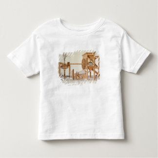 Tobacco Sieving Machine from the Royal Tobacco Toddler T-Shirt
