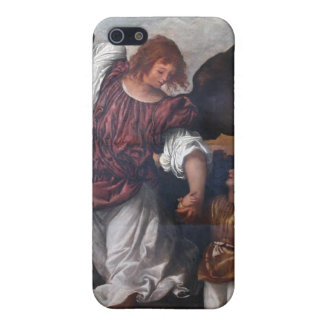 Tobias and the Archangel Raphael - Titian iPhone 5/5S Covers