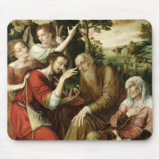 Tobias Curing his Father's Blindness, 1563 Mouse Pad