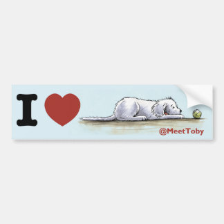Toby Bumper Sticker
