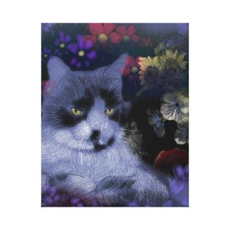 Toby Cat Canvas Print