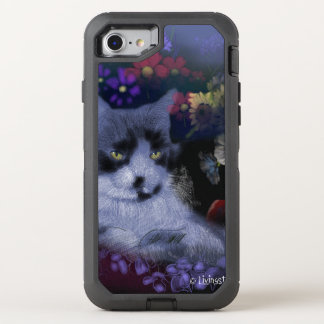 Toby Cat OtterBox Defender iPhone 8/7 Case