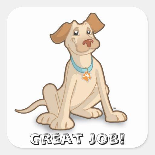 "Toby ""Great Job"" Sticker"