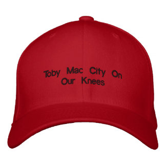 Toby Mac City On Our Knees Embroidered Cap