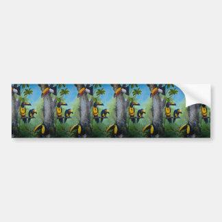 Toco Toucan Bumper Stickers