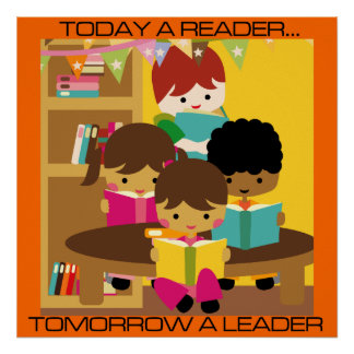 Today a Leader, Tomorrow a Leader Classroom Poster
