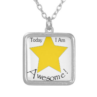 Today I Am Awesome merchandise Necklaces