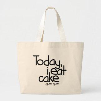 Today i eat cake (Birthday) Canvas Bag