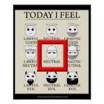Today I Feel Neutral Poster