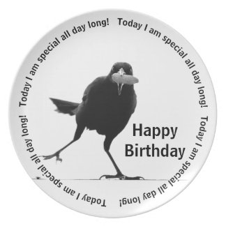 Today I'm special - Happy Birthday Plate