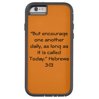 """""""Today"""" IPhone 6/6S Tough Ext Cell Phone Case"""