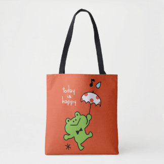 Today Is Happy Tote Bag