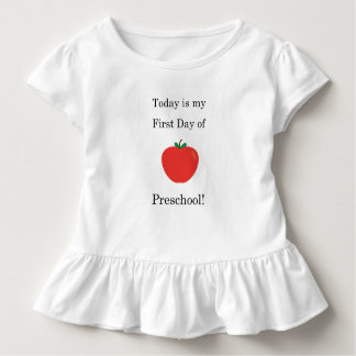 Today is my First Day of Preschool! Toddler T-Shirt