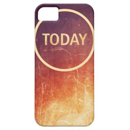 Today Phone Case iPhone 5 Covers
