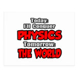 Today Physics...Tomorrow, The World Postcards