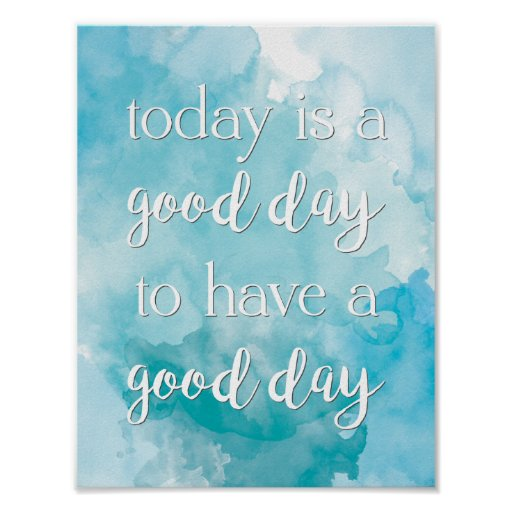 Today Quote Poster
