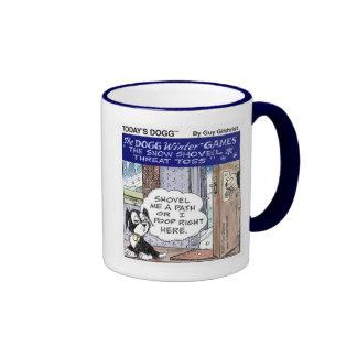 Today's Dogg™ Winter Games Ringer Mug