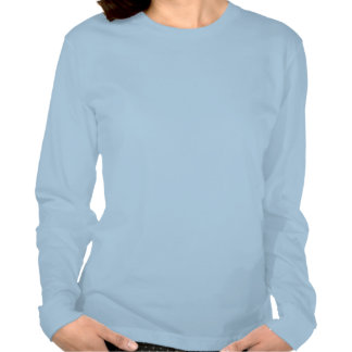 TodayI'm grateful for... w - longsleeved fitted T T-shirt