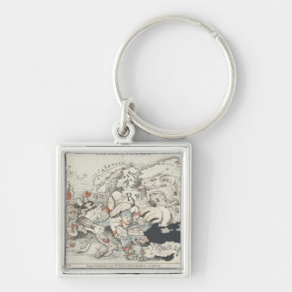 Today's Europe', 1887 Keychain