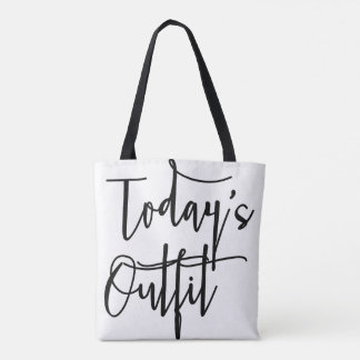💖Today's outfit tote bag