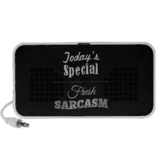 Today's Special: Fresh Sarcasm iPod Speakers