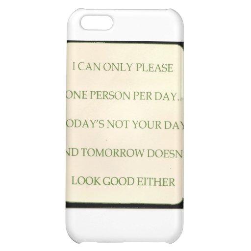 TODAY'S THOURT iPhone 5C CASE