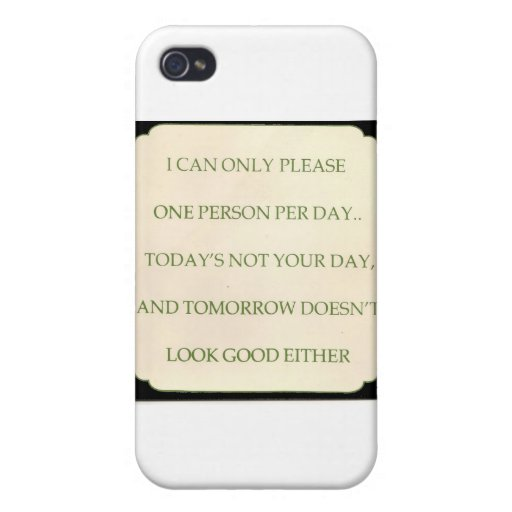 TODAY'S THOURT iPhone 4/4S CASE
