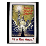 Today's Torch Of Liberty Post Card