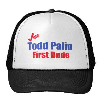 Todd Palin First Dude Cap