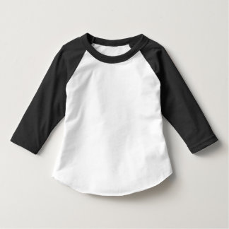 Toddler American Apparel 3/4 Sleeve Raglan T-Shirt