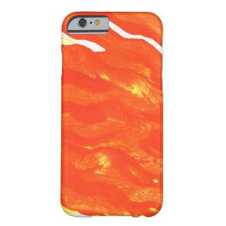 Toddler art bright orange iPhone case
