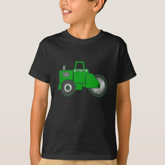 Toddler Boys cartoon Steam Roller t-shirt