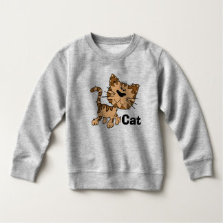 Toddler Cat Fleece Sweatshirt