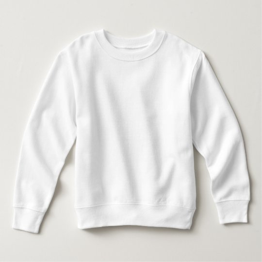 Fleece Sweatshirt, White