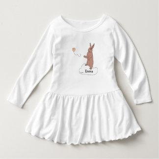 Toddler Girl Dress Bunny Angels