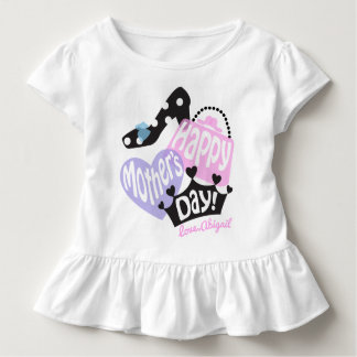 Toddler Girl Happy Mothers Day Shirt Princess