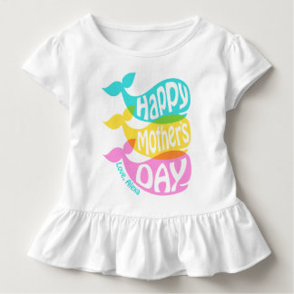 Toddler Girl Mother's Day Shirt Gift from Daughter