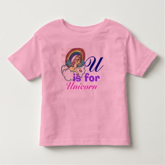 Toddler Girl Unicorn T-Shirt