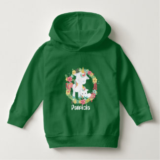 Toddler girls cute unicorn Fantasy hoodie