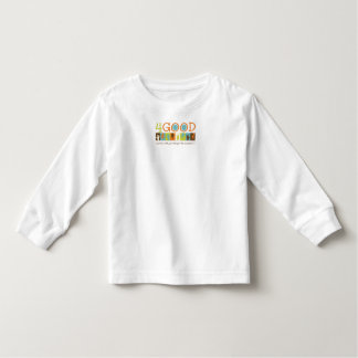 Toddler Long Sleeve 4GOOD logo t-shirt