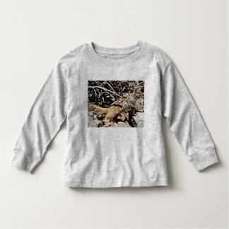 Toddler Long Sleeve Tee Shirt - Sonoran Squirrel