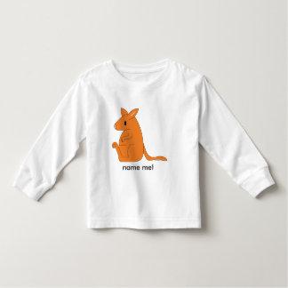 toddler long-sleeved kangaroo t-shirt