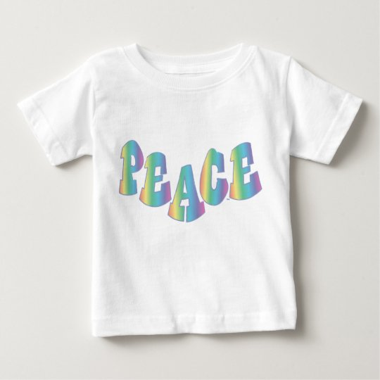 Toddler Peace Rainbow Baby T-Shirt