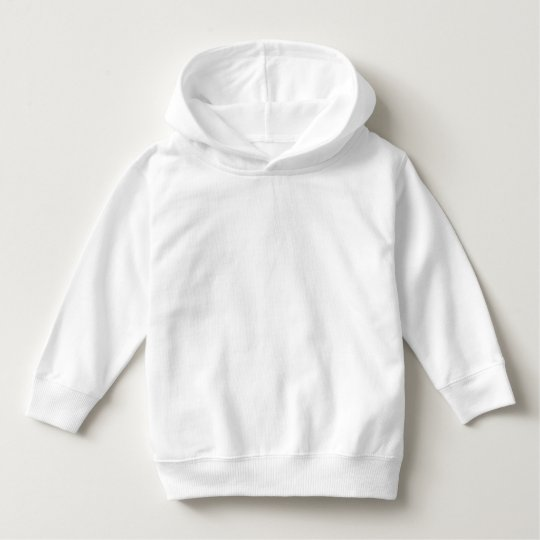 Toddler Pullover Hoodie, White