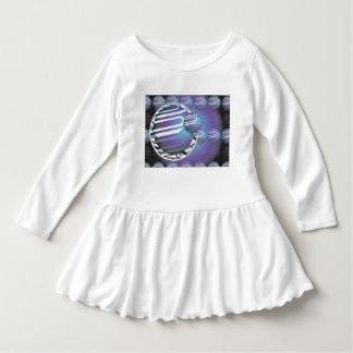 Toddler Ruffle Dress SPHERICAL UNIVERSE