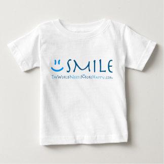 Toddler Smile-blue Baby T-Shirt
