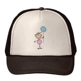 Toddler Stick Figure Hat