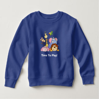 Toddler Sweatshirt--Jungle Animals Sweatshirt