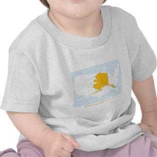 Toddler T Alaska Map Shirt