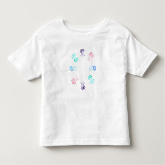 Toddler T-shirt with jellyfishes